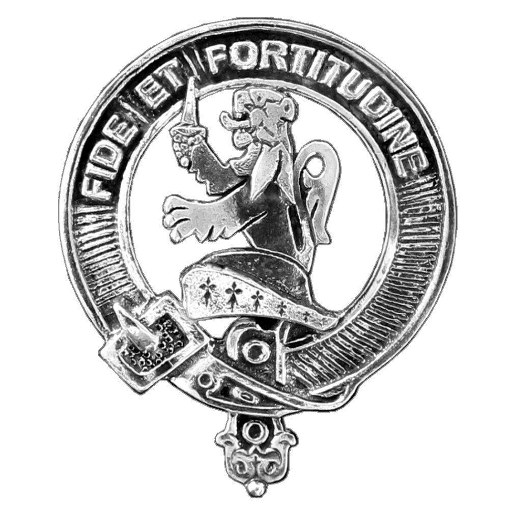 Farquharson Clan Crest Scottish Cap Badge
