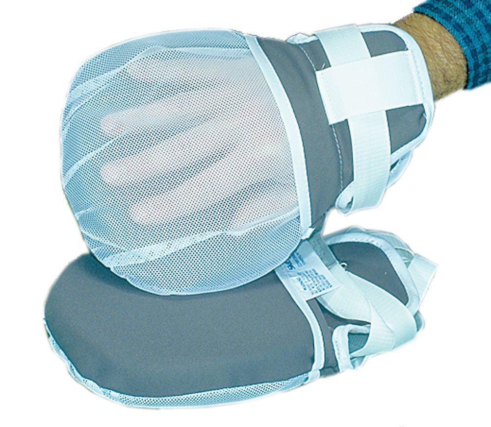 ALIMED 8796 Padded Motion Control Mitts Pair