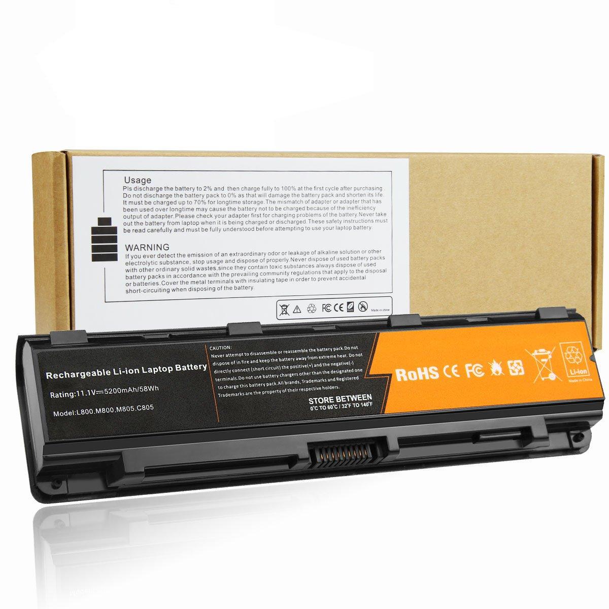 Bateria Para Toshiba Satellite L855-s5375 L855-s5383 L855-s5385 L855d-s5114 C855-s5236 C855d-s5104 5200mah 6 Celdas