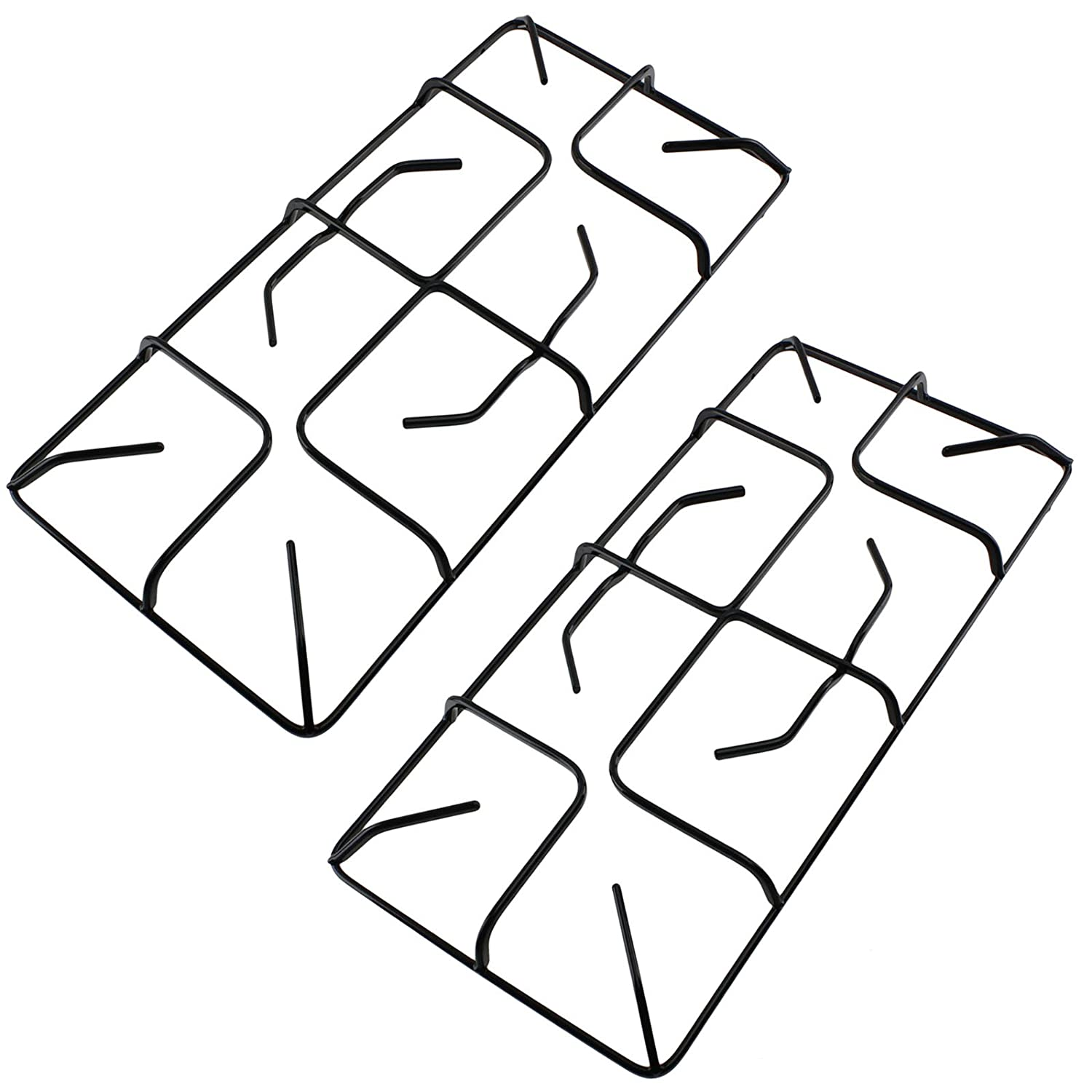 SPARES2GO Universal Gas Hob Pan Support Moka Trivet Stand Large, 257mm, Pack of 4
