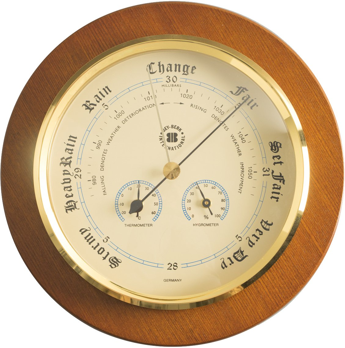 Amazon.com : Barometer Thermometer and Hygrometer : Weather Stations ...