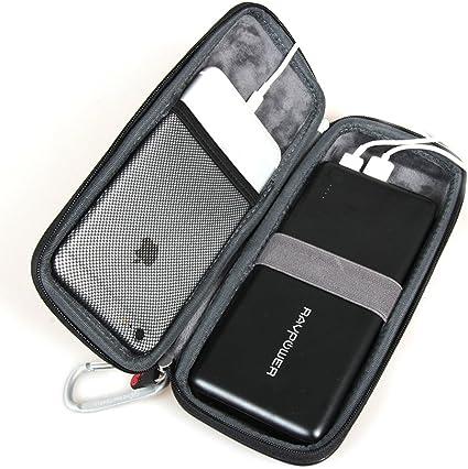 Hermitshell Hard EVA Travel Case Fits RAVPower 26800mAh 32000mAh 20000mAh External Battery Pack Power Bank