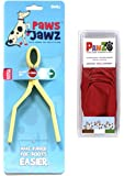 Jawz for Pawz Dog Boots Color:Red Size:Small Starter
