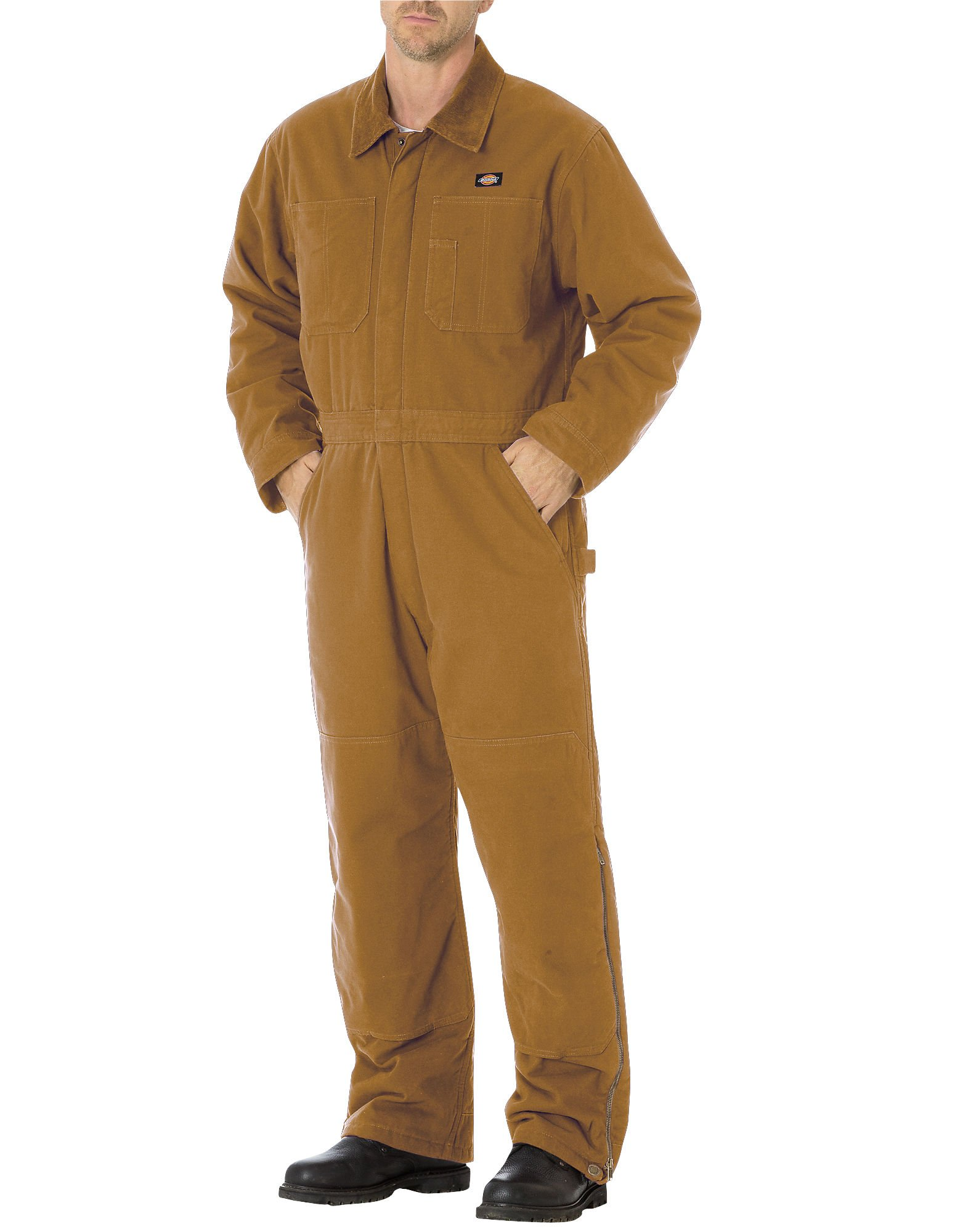 Dickies Men's Sanded Duck Insulated Coverall