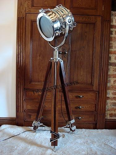 Studio Adjustable Tripod Movie Spot Floor Lamp Modern Searchlight Replica Modern