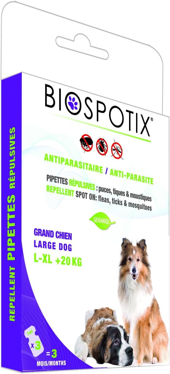 Arppe 2962010200 Pipetas Biospotix para Perros Talla L y XL, 3 Unidades