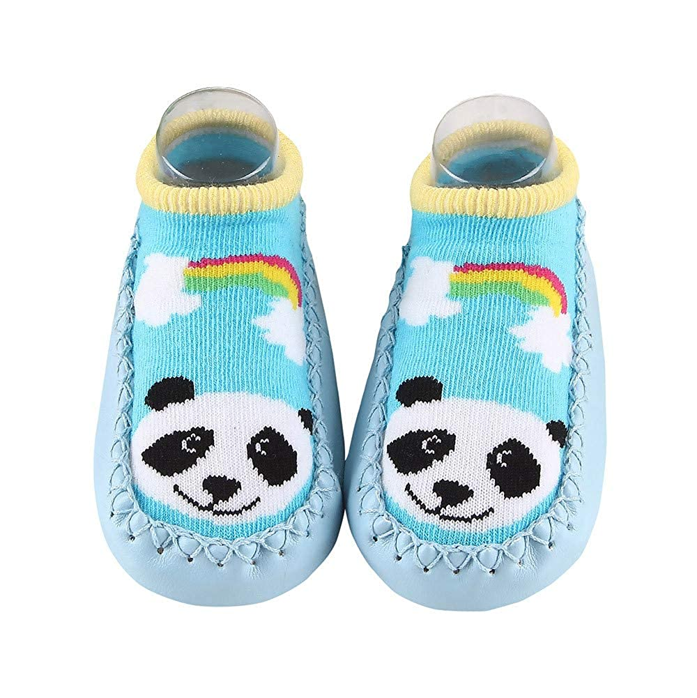 Amazon.com: VEKDONE Baby Slipper Socks Animal Infants Toddler Indoor Floor Anti-skid Warm: Clothing