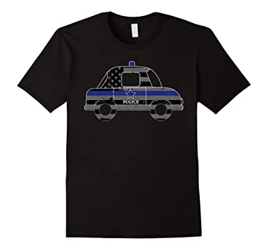 e1885d068 Amazon.com  Police Shirts For Kids Police Car For Kids Shirt  Clothing