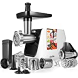 OSTBA Electric Meat Grinder 2000W MAX Meat Mincer with Sausage Stuffer, 5 in 1 Food Grinder with Sausage, Kubbe…