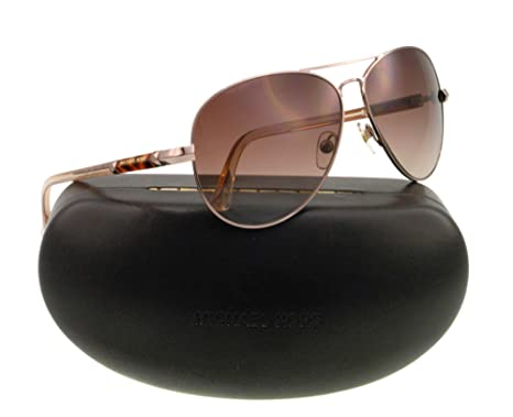 8e647ebd0c6c8 Michael Kors 2477S 780 Rose Gold Karmen Aviator Sunglasses  Amazon.co.uk   Clothing