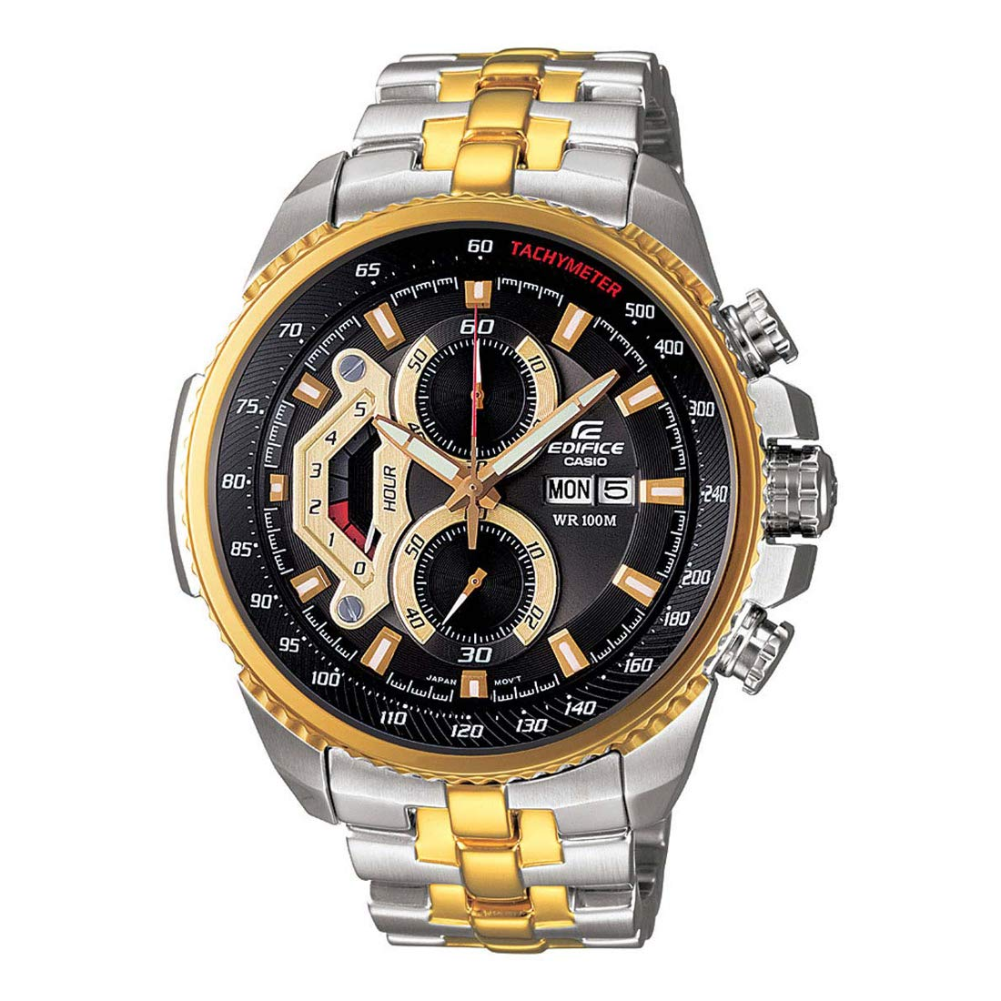 dc6e7d0de8b Buy Casio Edifice Men s Tachymeter Chronograph EF-558SG-1AVDF (ED439)  Online at Low Prices in India - Amazon.in