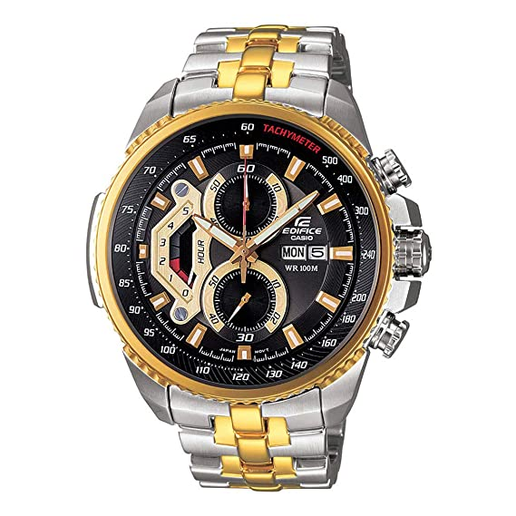 b89d2bbb421 Buy Casio Edifice Men s Tachymeter Chronograph EF-558SG-1AVDF (ED439) Online  at Low Prices in India - Amazon.in