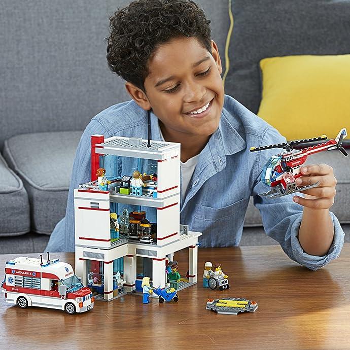 LEGO 乐高 城市系列 60204 城市医院 积木玩具 7折$69.99 海淘转运到手约¥600
