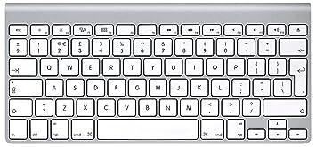Apple Wireless Keyboard Uk Keyboard Layout Renewed Amazoncouk