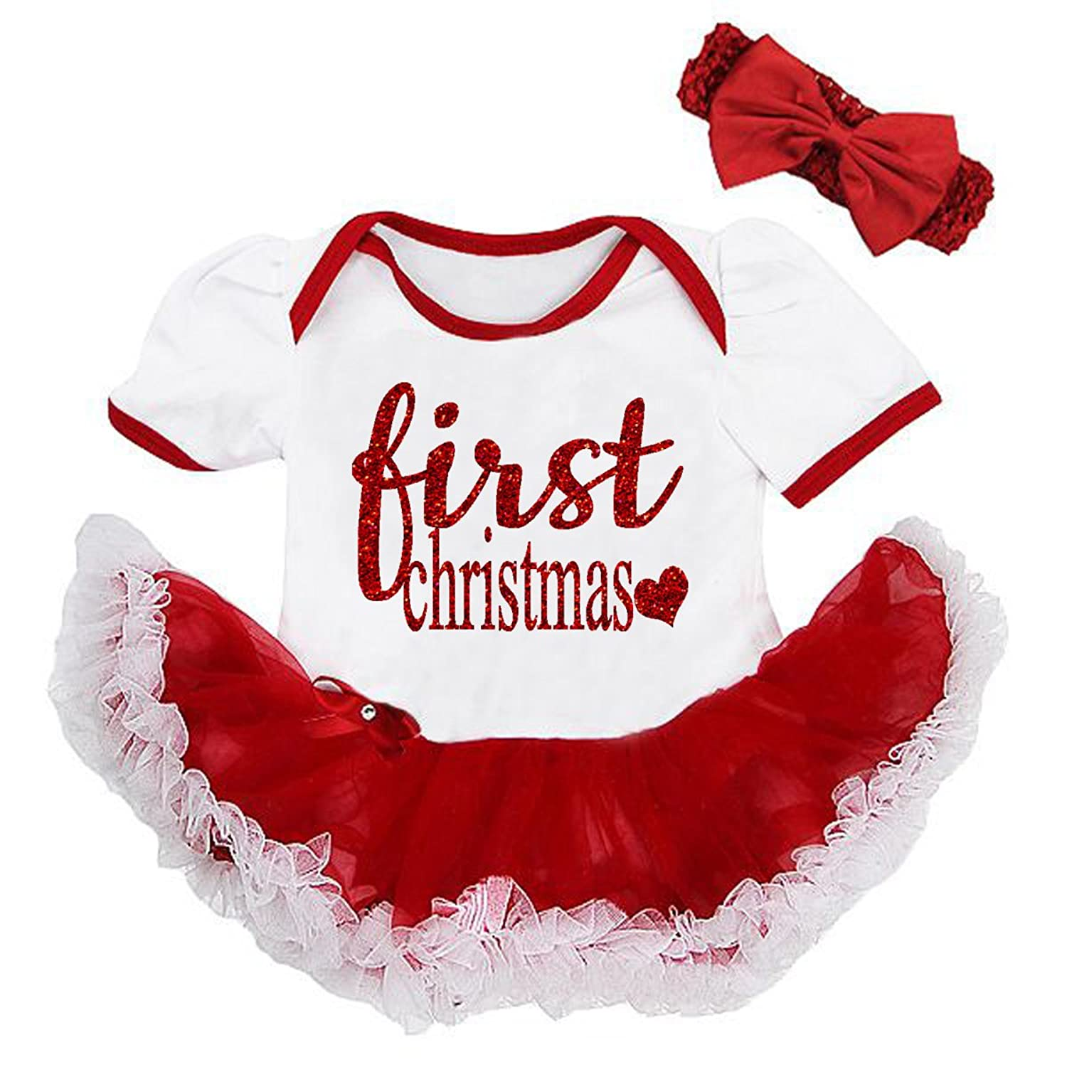 Amazon All That Glitters and Gold Cute Red White Sparkly First