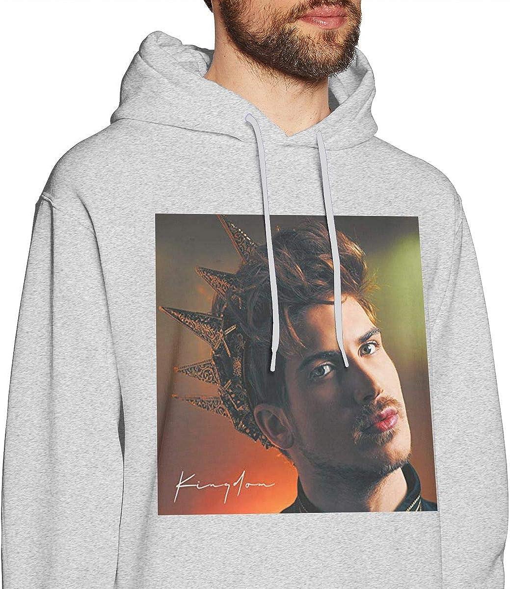 DANIPEW Mens Hoodie Sweatshirt Joey-Graceffa Sweater Black