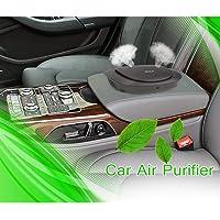 iRULU Car Air Freshener Sterilizer Mini Portable Air Cleaner with LED Indicator Sensor