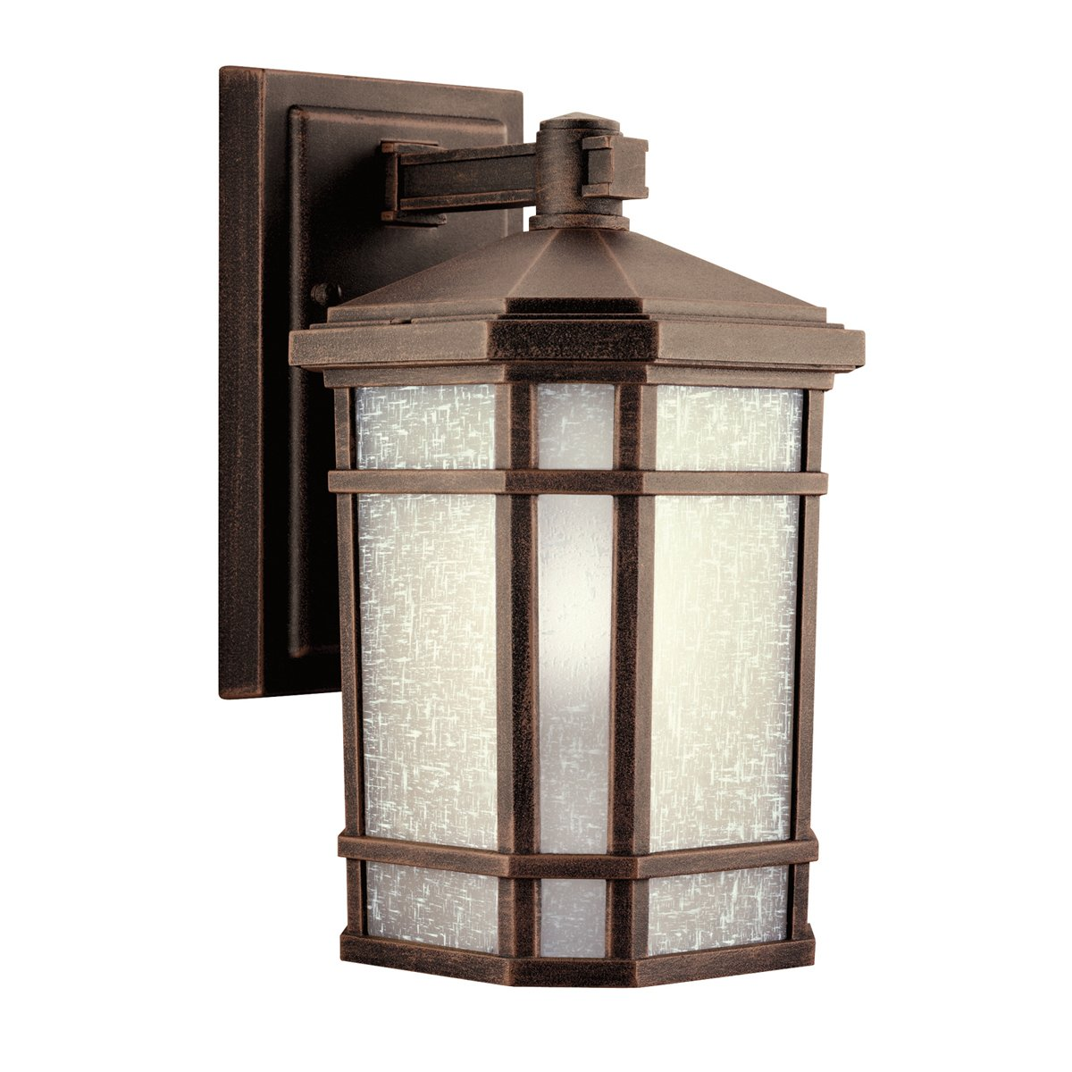 Delightful Kichler 9718PR One Light Outdoor Wall Mount   Wall Porch Lights   Amazon.com Pictures