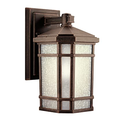 Kichler 9718pr outdoor wall 1 light prairie rock