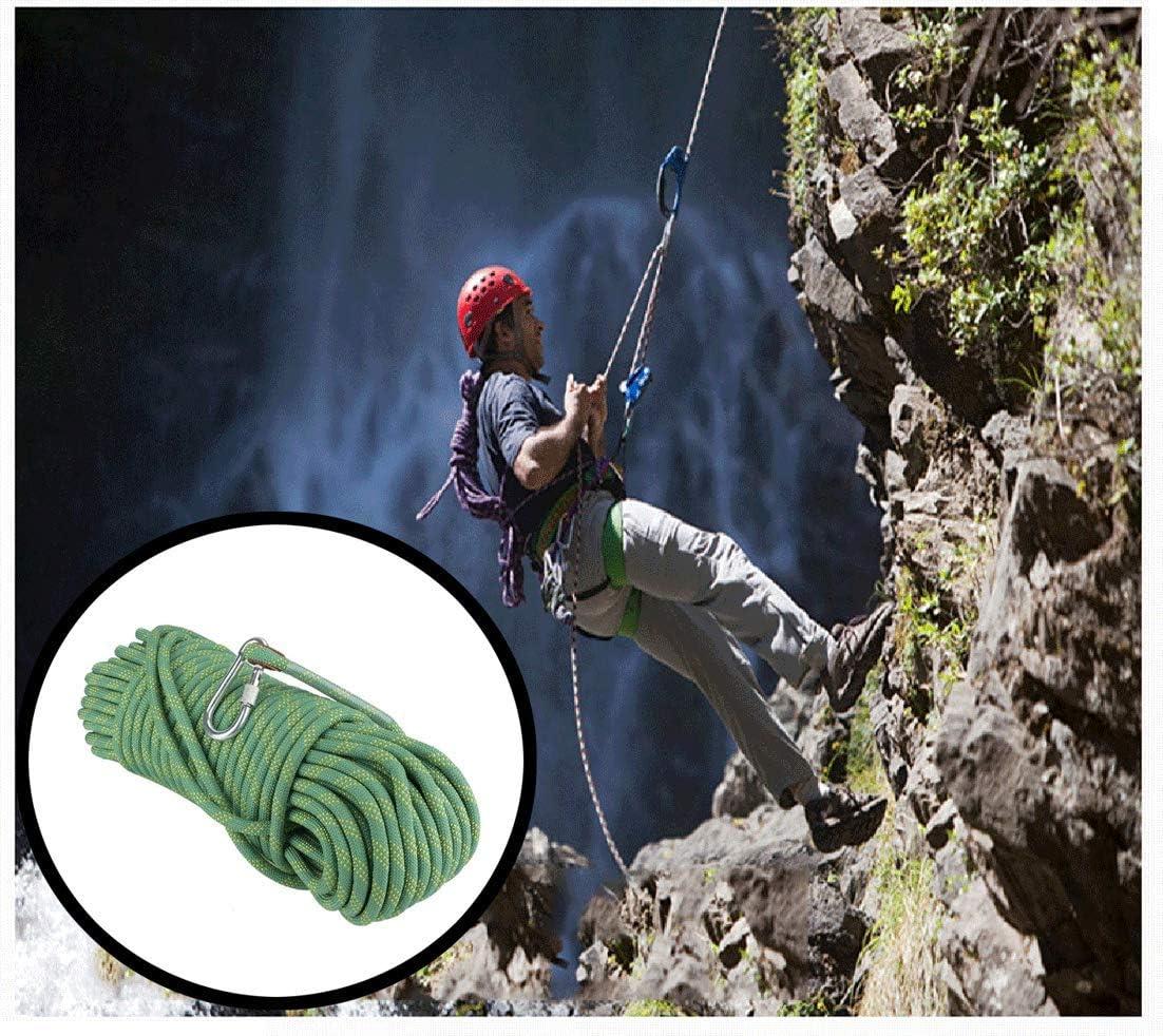 ND-Climbing rope Cuerda de Escalada Verde, en línea con Las ...