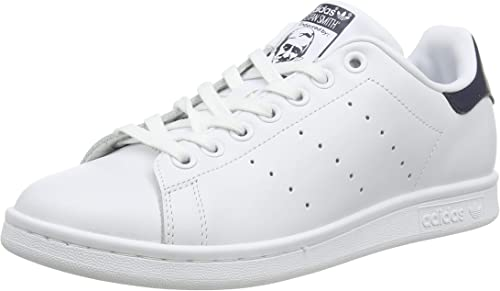 adidas Originals Stan Smith Trainers White S75104, Size:42