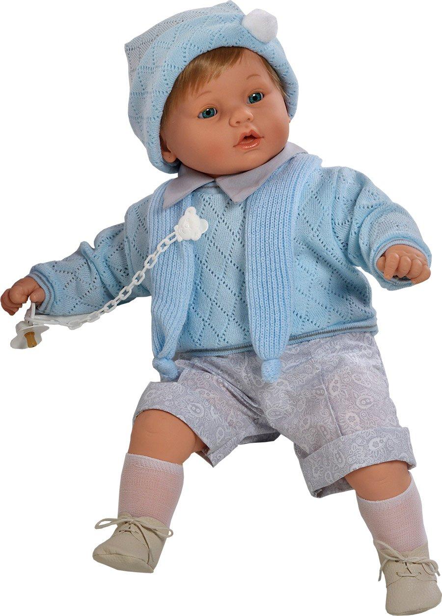 Berbesa berbesa8025 62 cm bebé Dulzon muñeca Llora para Eliminar su Chupete
