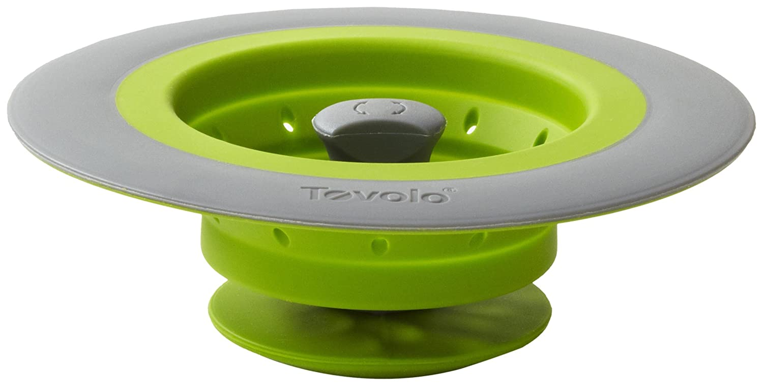 Amazoncom Tovolo Collapsible StopperStrainer Green Green Kitchen
