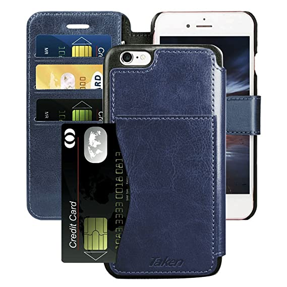info for 62a71 42b16 Amazon.com: iPhone 6S Plus Wallet Case for Men, Apple iPhone 6 Plus ...