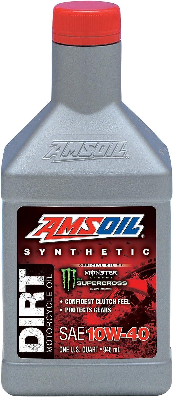 Amazon Com Amsoil Db40qt Ea 10w 40 Synthetic Dirt Bike Oil