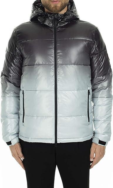 Emporio Armani EA7 Hombre Chaquetas de Invierno Shaded Grey M: Amazon.es: Ropa y accesorios