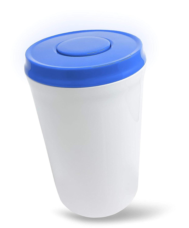 Powder Nest: Airtight Pantry Food Storage Container - Designed for Baby Infant Milk Formula (600g/21oz) (Blue)