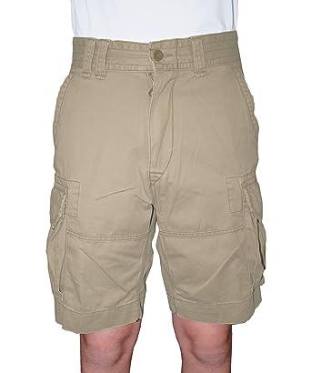 e6b35131d0 Polo Ralph Lauren Men's Gellar Fatigue Cargo Shorts 30 Hudson Tan