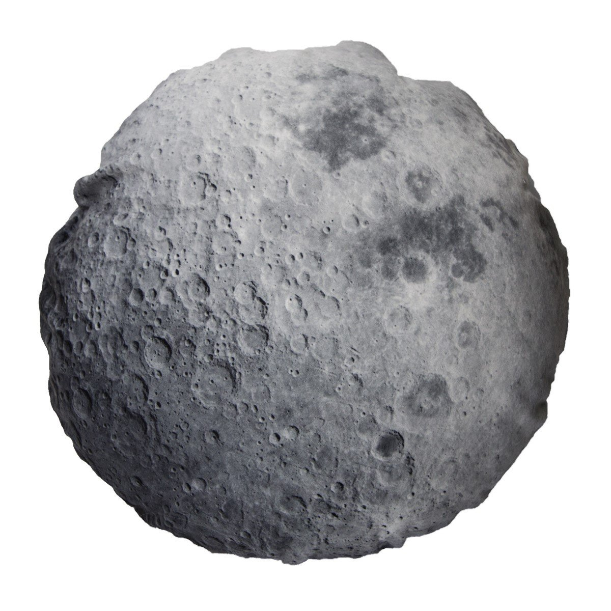 Ultra Realistic Space-Themed Pillow Cover (Moon)