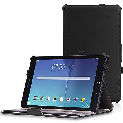 wholesale dealer dacf9 b559d MoKo Samsung Galaxy Tab E 8.0 Case - Slim-Fit Multi-angle Folio Cover Case  for Samsung Galaxy Tab E (Sprint / US Cellular / Verizon / AT&T) SM-T377 4G  ...