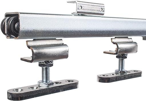 Herraje para puertas correderas colgantes de 1,0-1,2 m de longitud, herraje para puerta corredera.: Amazon.es: Bricolaje y herramientas