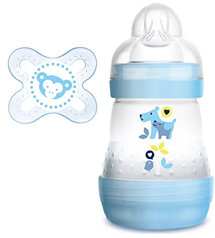 Mam Anti colic Botella 160 ml Plus mam Chupete Start 0 - 2 ...