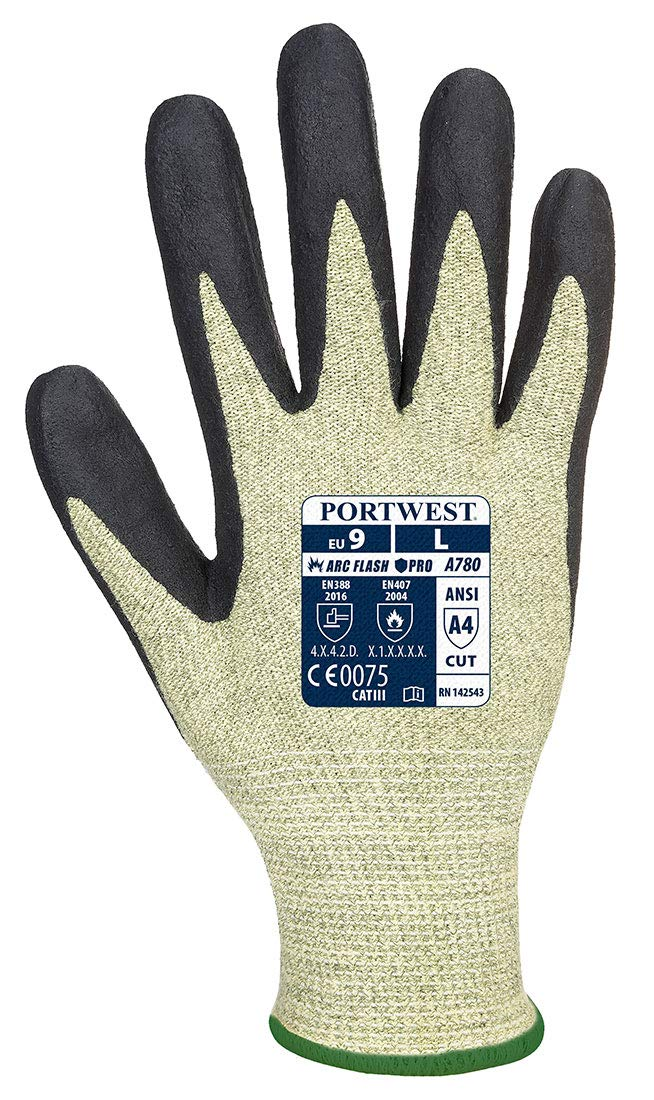 Atlas Gloves Latex Extra Large Carded Pack of 12