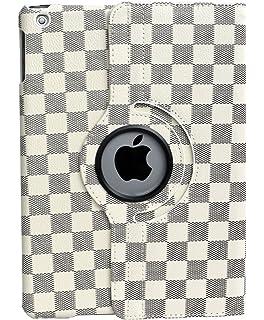 the latest 50760 f7b91 Amazon.com: AirChichi Case for iPad 9.7 Inch Grid Check Lightweight ...