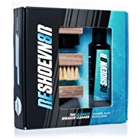 Reshoevn8r 4 oz. 3 Brush Shoe Cleaning Kit - Suitable for Leather Suede & Mesh