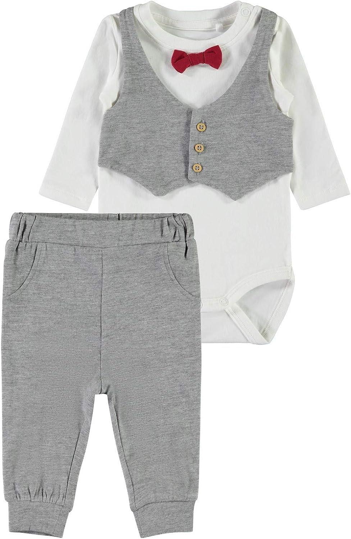 Body + Hose NAME IT Baby Jungen Anzug Set nmbseFEST