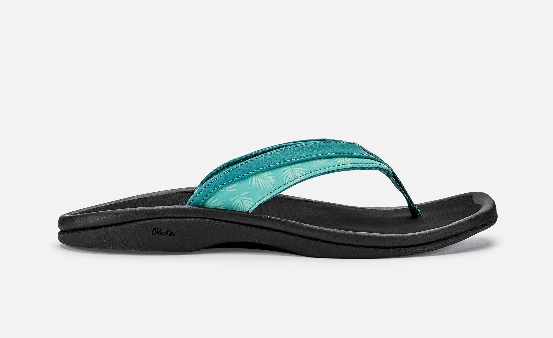 OLUKAI Ohana Sandals - Women's Paradise/Black 8