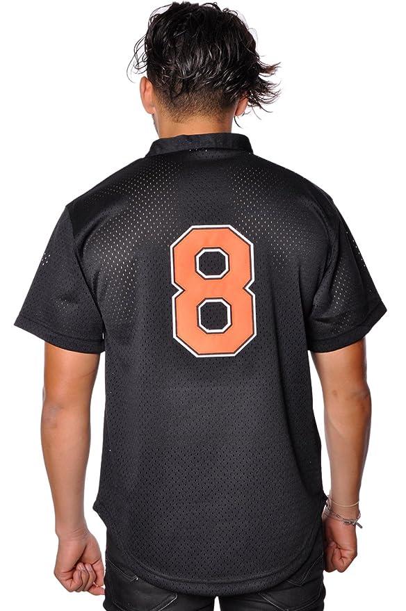 81fd4ee31c5 Amazon.com   Mitchell   Ness Cal Ripken Jr. Baltimore Orioles Men s 1997  Authentic Mesh BP Jersey   Sports   Outdoors