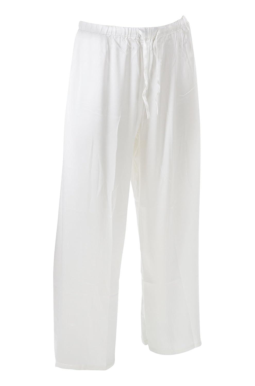 SUPERIOR NATURALS Herren Pyjamahose Seide Weiss B0088VHIBW Schlafanzughosen Mode dynamisch