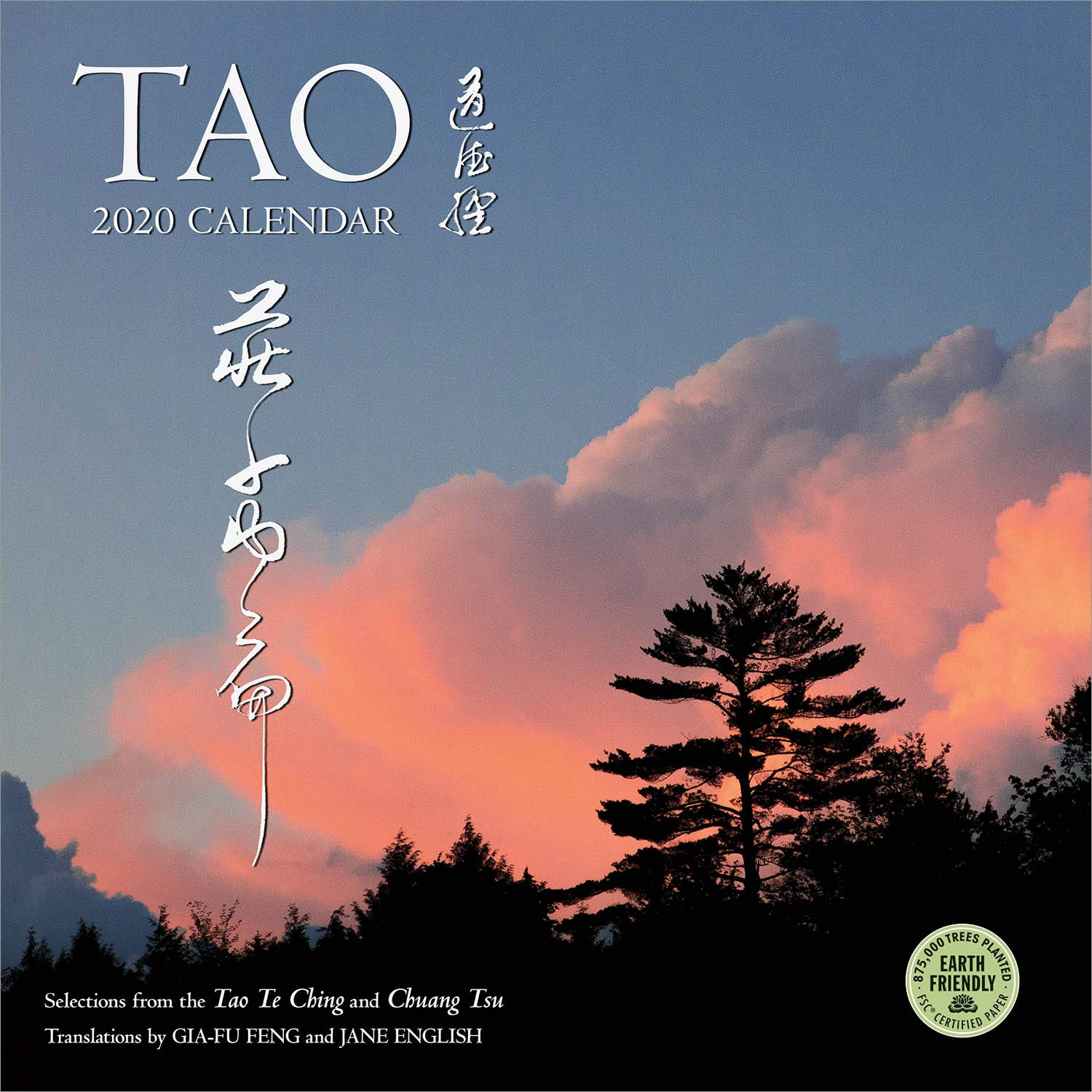Tao 2020 Wall Calendar: Selections from the Tao Te Ching and Chuang Tsu: Inner Chapters by Amber Lotus Publishing