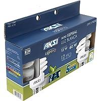 Aksi Pack de 5 Focos MiniSP Luz Blanca, 13 W x 127 V