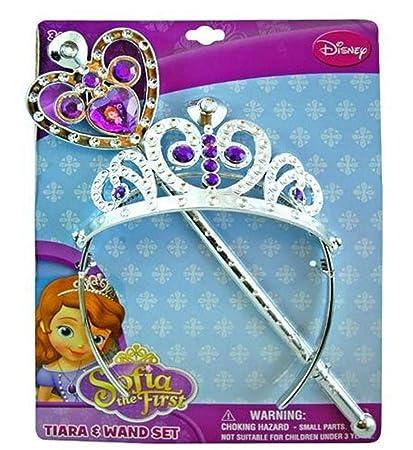 Amazon.com: Disney Princesa Sofía la Primera Tiara y Varita ...