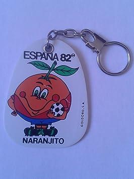 Desconocido Antiguo Llavero Keyring Keychain DE ÉPOCA Naranjito ...
