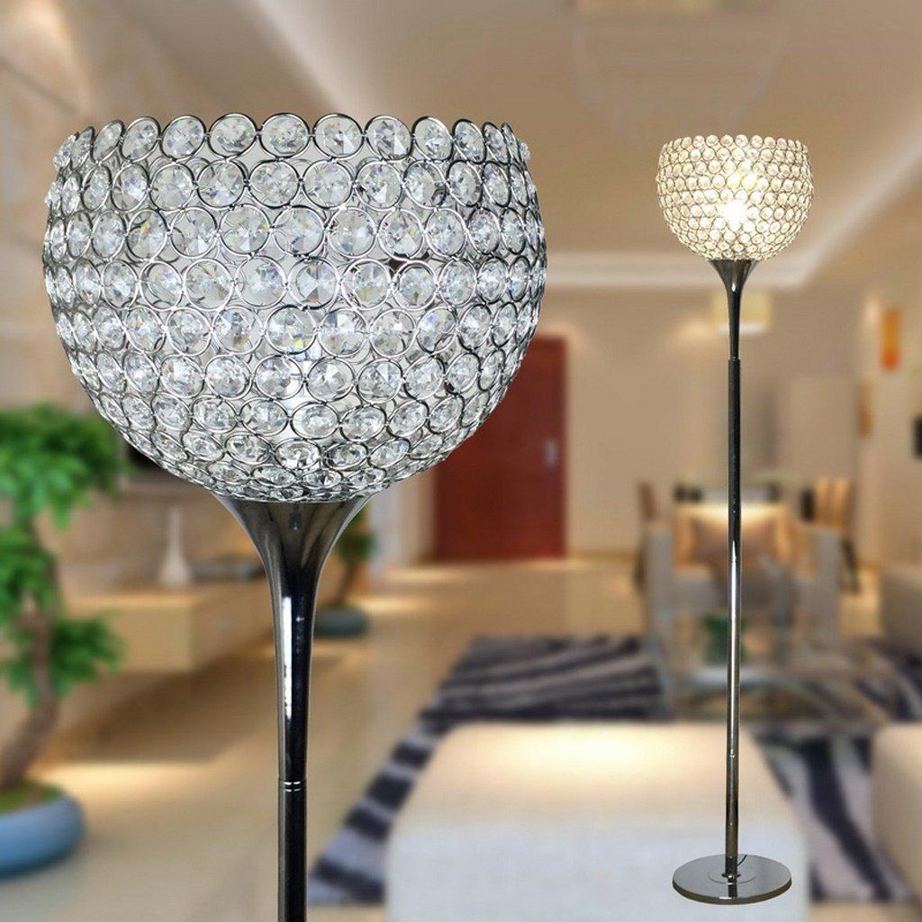 Stehlampe Einfache Moderne Kristall-Fußboden-Lampen-kreative Fußboden-Lampen-Hochzeits-Pers5onlichkeit-kreative Nachttischlampe Wohnzimmer