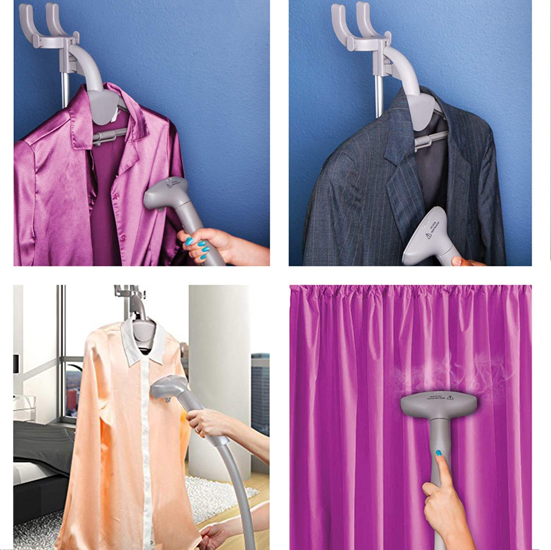 PurSteam Elite Garment Steamer Heavy Duty Powerful Fabric Steamer with Fabric Brush and Garment Hanger FBA/_B00JP45F7U