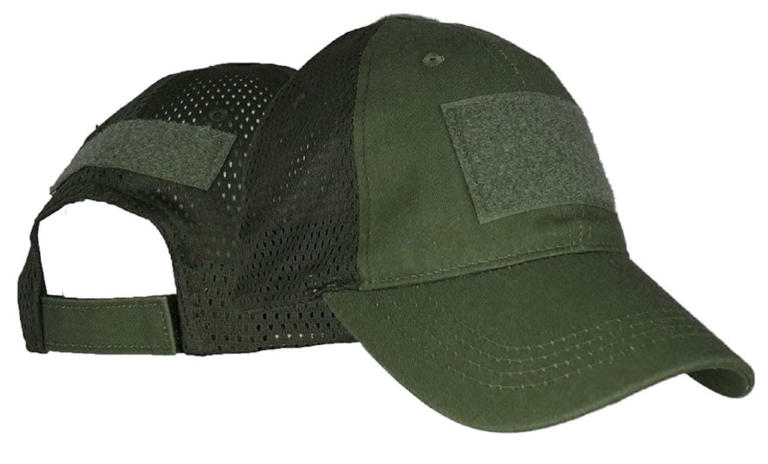 c271416fb93 Amazon.com  Eagle Crest Blank Mesh Baseball Hat With 3 Hook and Loop  Locations